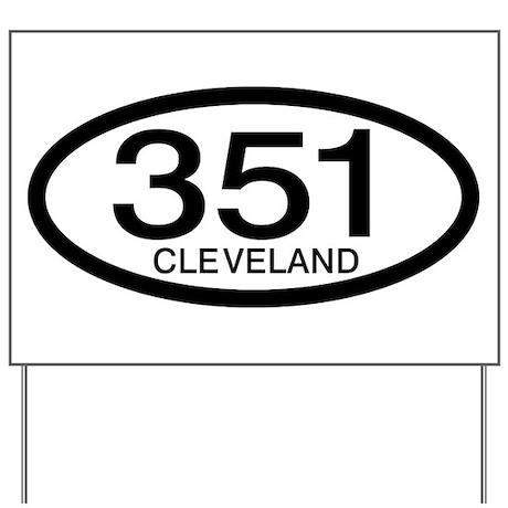 Vintage Ford 351 c.i.d. Cleveland Yard Sign