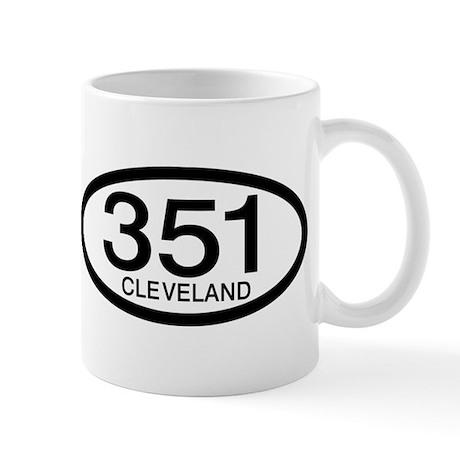 Vintage Ford 351 c.i.d. Cleveland Mug