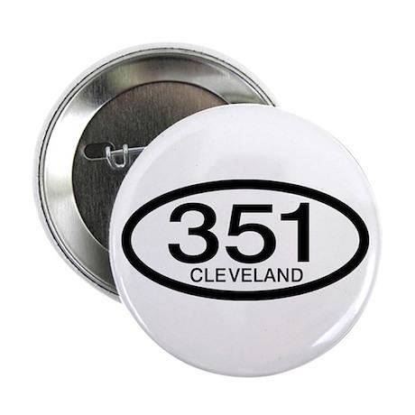 "Vintage Ford 351 c.i.d. Cleveland 2.25"" Button"