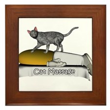 Animal Massage Framed Tile