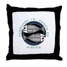 PISCES (16) Throw Pillow