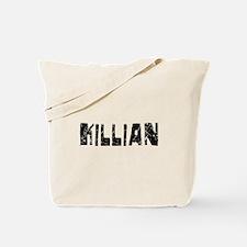 Killian Faded (Black) Tote Bag