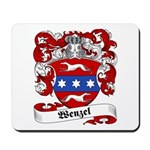 Wenzel Family Crest Mousepad