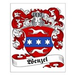 Wenzel Family Crest Small Poster