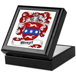 Wenzel Family Crest Keepsake Box