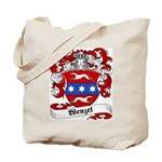 Wenzel Family Crest Tote Bag