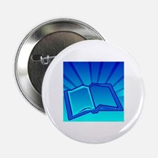 "Glowing Book! 2.25"" Button"
