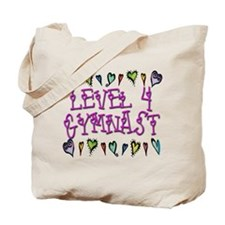 Level 4 Hearts Tote Bag