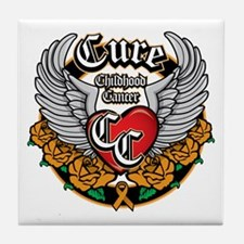 CC Biker Tile Coaster