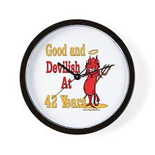 Devilish at 42 Wall Clock