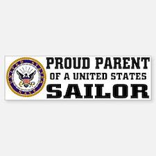 Proud Parent of a U.S. Sailor Bumper Bumper Bumper Sticker