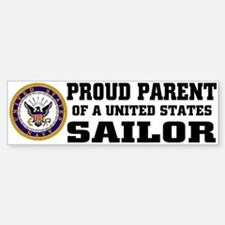 Proud Parent of a U.S. Sailor Bumper Car Car Sticker