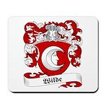 Wilde Family Crest Mousepad