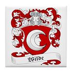 Wilde Family Crest Tile Coaster