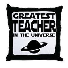 Greatest Teacher Throw Pillow