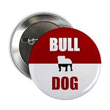 """Bulldog 2.25"""" Button"""