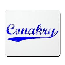 Vintage Conakry (Blue) Mousepad