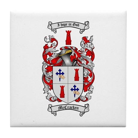 Mccracken Family Crest from Ireland by The Tree Maker