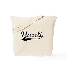 Vintage Yareli (Black) Tote Bag