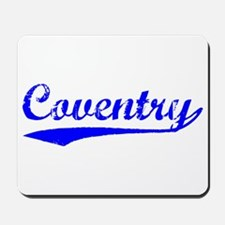 Vintage Coventry (Blue) Mousepad
