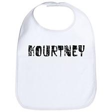 Kourtney Faded (Black) Bib