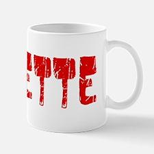 Josette Faded (Red) Mug