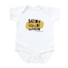 Sexy Square Dancer Infant Creeper