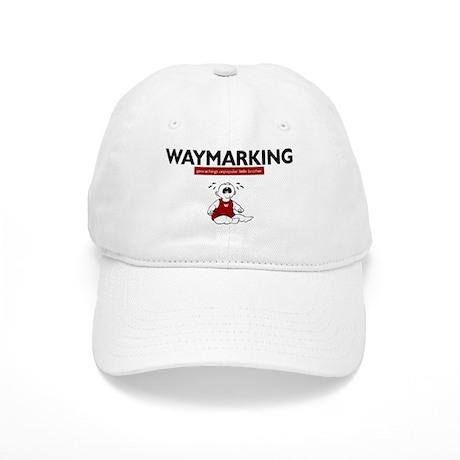 Waymarking, geocachings unpop Cap