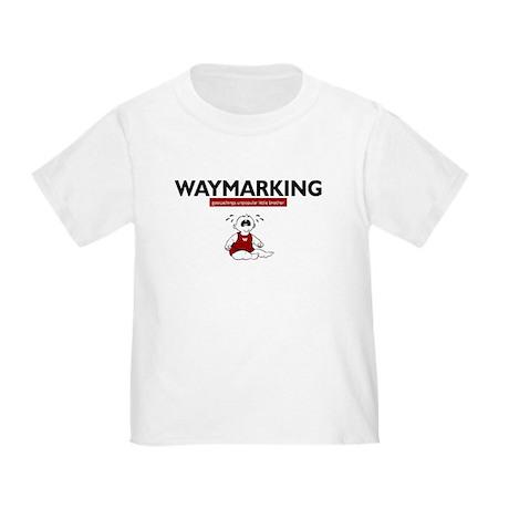 Waymarking, geocachings unpop Toddler T-Shi