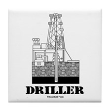 Driller Tile Coaster