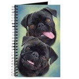 Pugs Journals & Spiral Notebooks