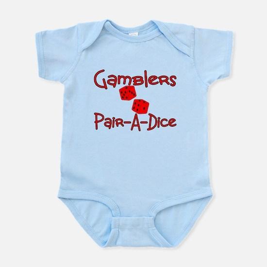Gamblers Pair-A-Dice Infant Bodysuit