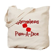 Gamblers Pair-A-Dice Tote Bag