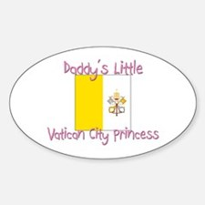 Daddy's little Vatican City Princess Decal