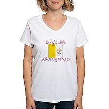 Daddy's little Vatican City Princess Shirt