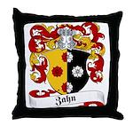 Zahn Family Crest Throw Pillow