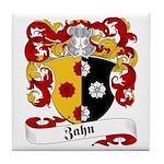 Zahn Family Crest Tile Coaster