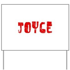 Joyce Faded (Red) Yard Sign