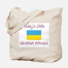 Daddy's little Ukrainian Princess Tote Bag