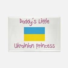 Daddy's little Ukrainian Princess Rectangle Magnet