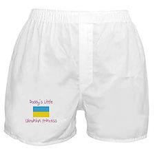 Daddy's little Ukrainian Princess Boxer Shorts