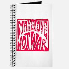 Make LOVE, NOT War Journal