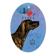 Plott Ornament (Oval)