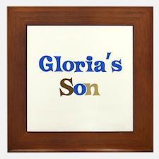 Gloria's Son Framed Tile