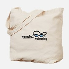 wannabe...swimming Tote Bag