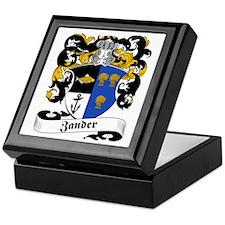 Zander Family Crest Keepsake Box