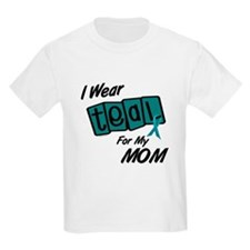 I Wear Teal 8.2 (Mom) T-Shirt