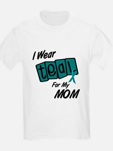 I Wear Teal 8.2 (Mom) T-Shirt