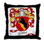 Zeidler Family Crest Throw Pillow