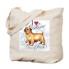 Norfolk Terrier Tote Bag